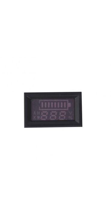H27V210CUP DC 7 - 100V Electric Vehicle Percentile Voltmeter with Alarm