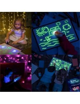 Children\'S 3D Luminous Graffiti Fluorescent Plate