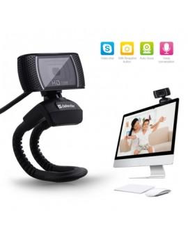 Defender 360 Degree Rotatable 2MP HD Webcam Clip-on Web PC Camera